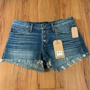 Lucky Brand The Cut Off High Rise Jean Shorts